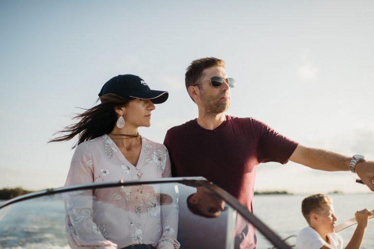 Boating with Melinda Bialke