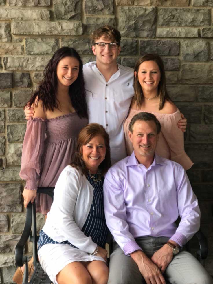 Chelsea Theobald, Bialke Agency, family photo